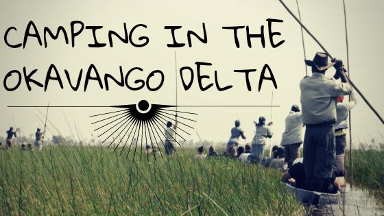 Camping in the Okavango Delta