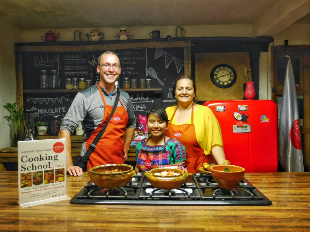 Guatemalan Cooking Class in Antigua