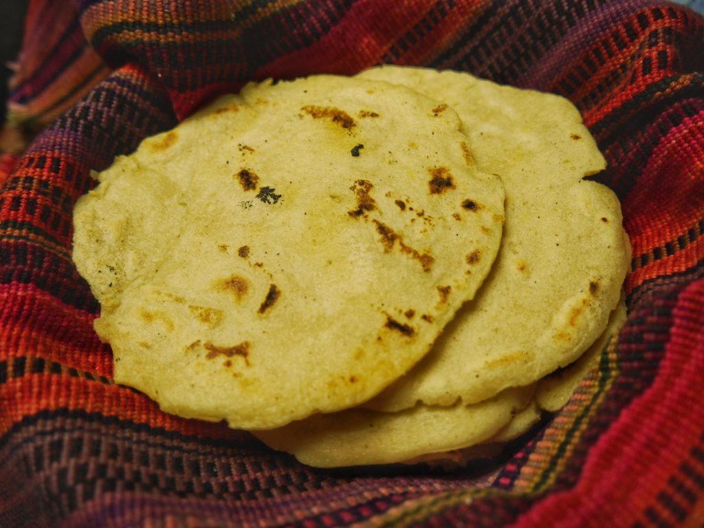Tortillas from Cooking Class in Antigua