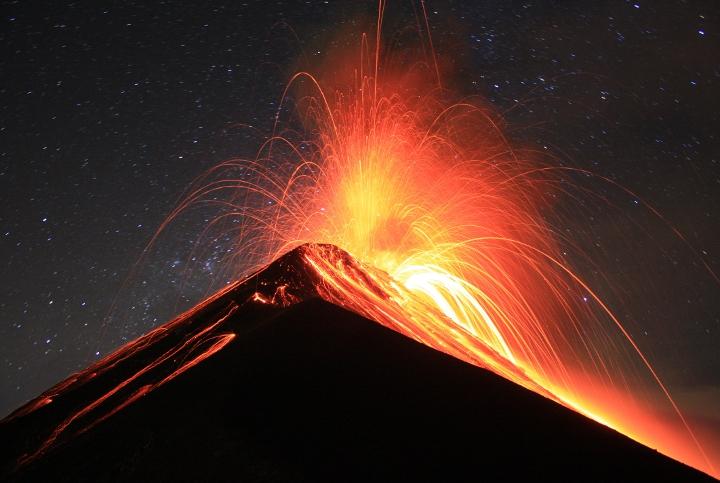 Fuego Eruption