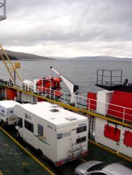 Motorhome on a Ferry