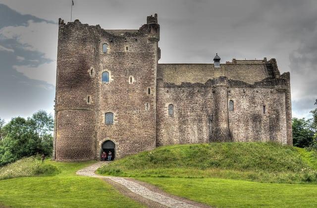 Doune Castle. Pic credit: Alasdair on Flickr Creative Commons.