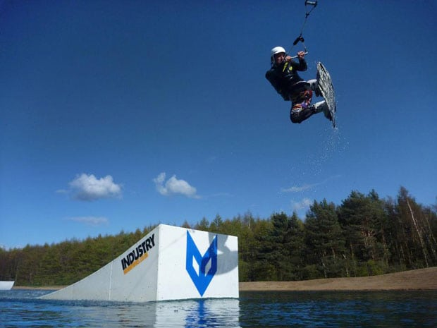 Foxlake cable wakeboarding.