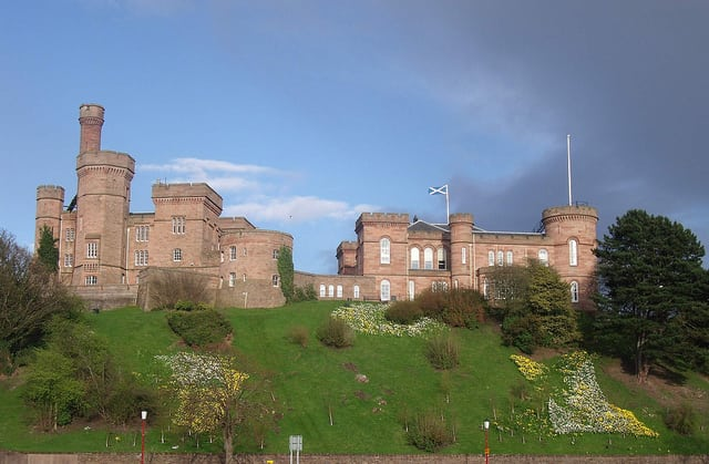 Inverness Castle. Pic by: Dave Conner Creative Commons