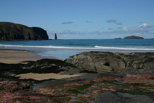 Sandwood Bay. Pic by: Bob Jones Creative Commons
