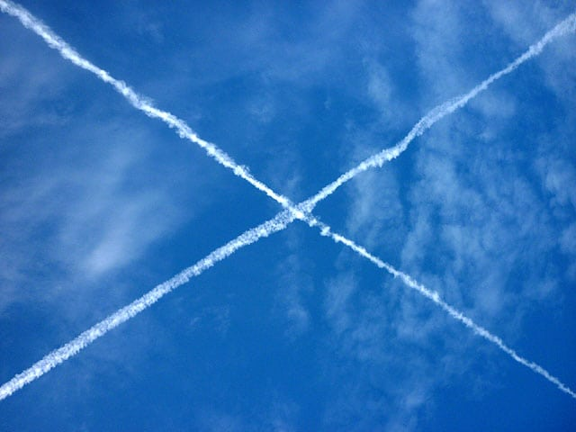 Saltire flyover. pic credit: Karl and Ali on Creative Commons.