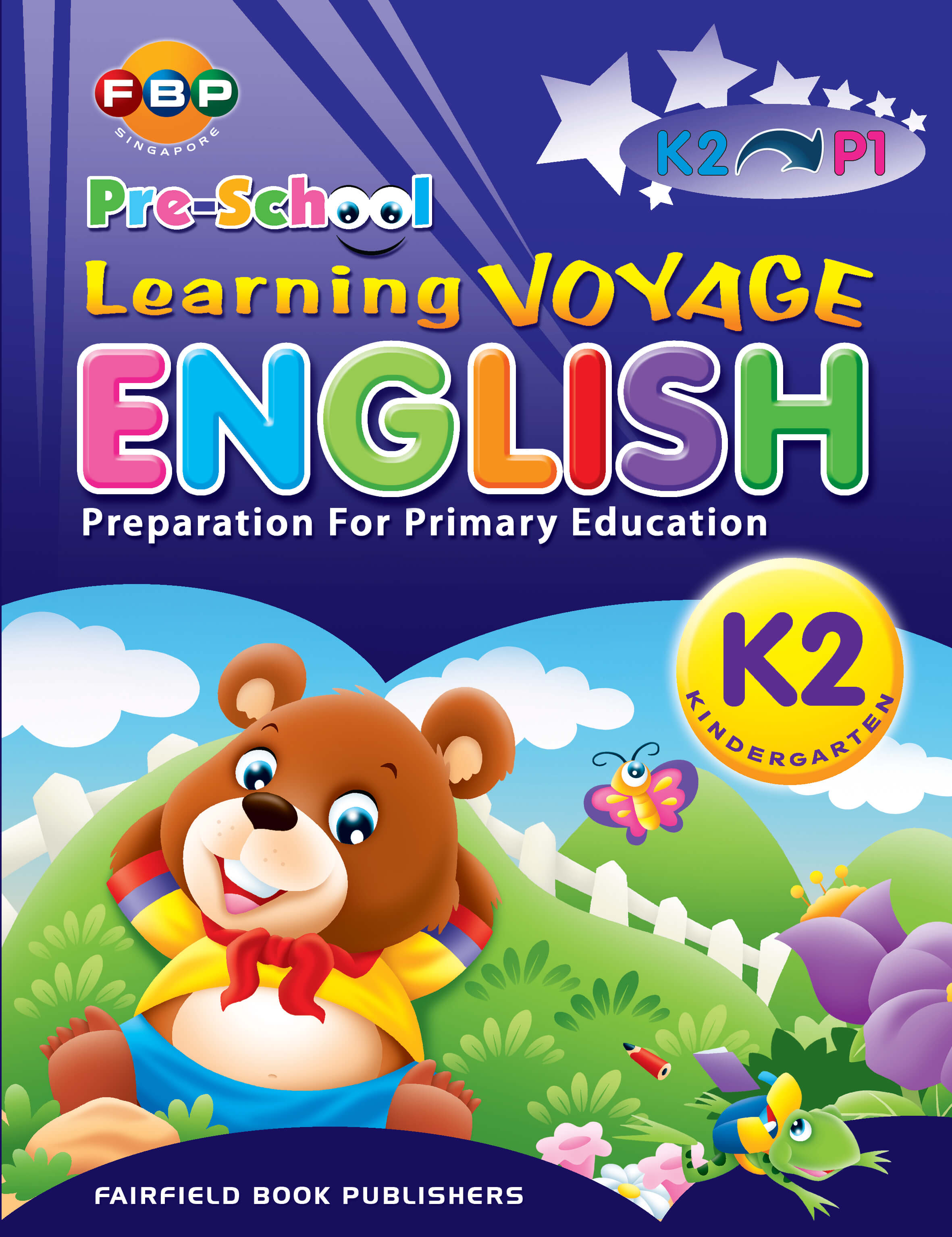 Pre School Learning Voyage English K2