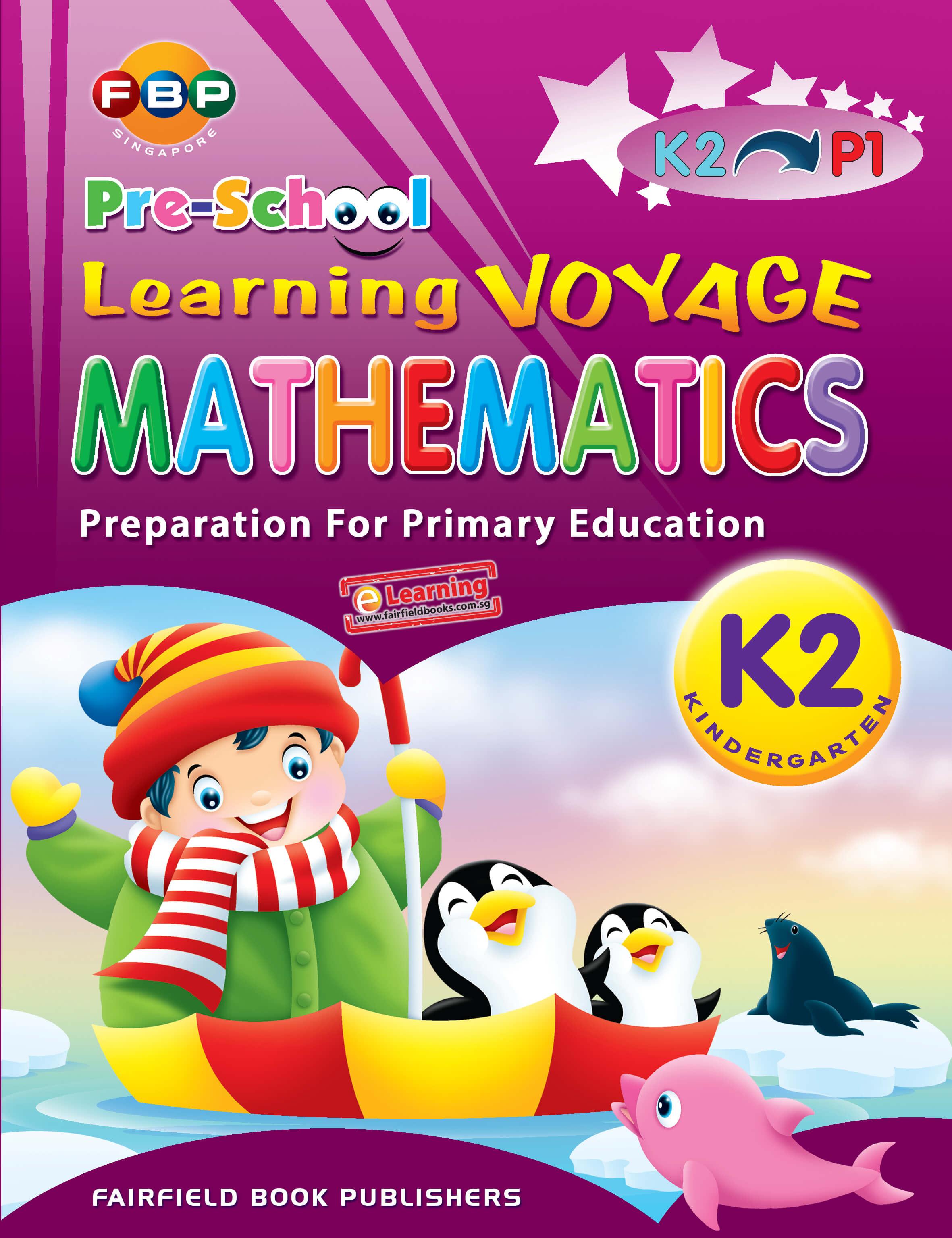 Pre School Learning Voyage Maths K2