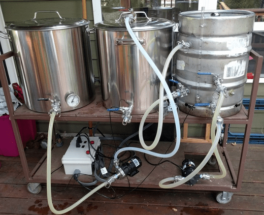 brewing beer with python and a raspberry pi  opensource