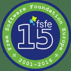 fsfe-15-badge
