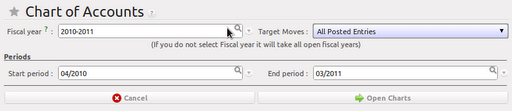 Setting up account module in OpenERP (4/6)