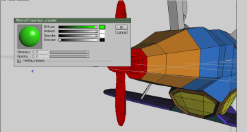 Wings 3D and the GIMP: UV Mapping and Texturing the Airplane