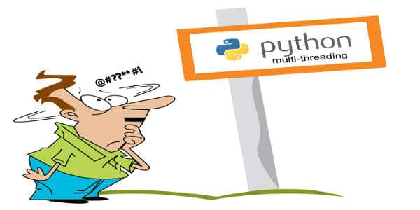 Python threading and its caveats
