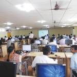 Workshop in progress at S M K Fomra Institute of Technology, Chennai