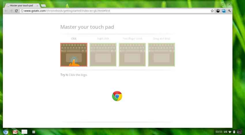 Get trained on touchpad tricks