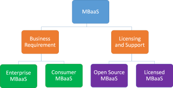 Figure 5: Categorisation of MBaaS