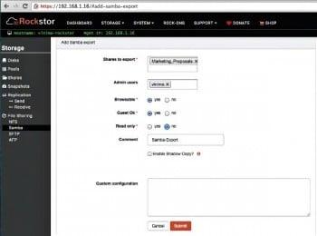 Rockstor The Rockstar among NAS Solutions