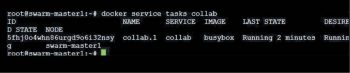 Figure 10 Listing the Docker service