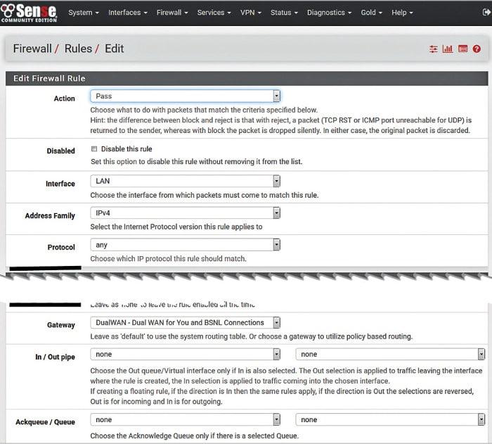 Configuring pfSense in Dual WAN Failover Mode - Open Source