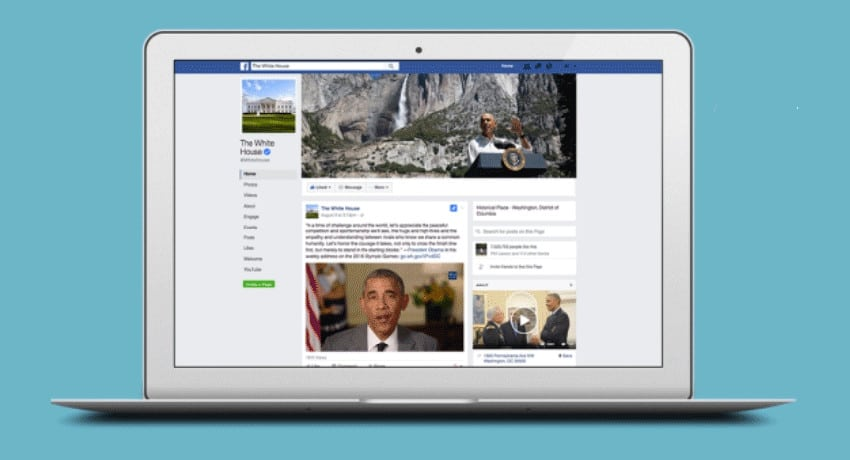 US President Barack Obama's Facebook Messenger bot