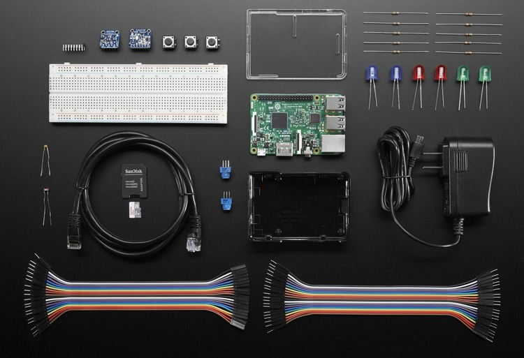 Microsoft IoT kit with Raspberry Pi