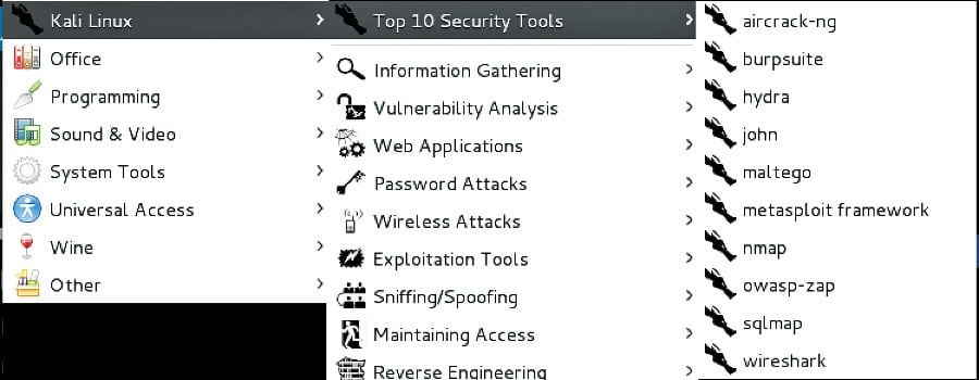 Top 10 operating systems for ethical hackers and penetration testers