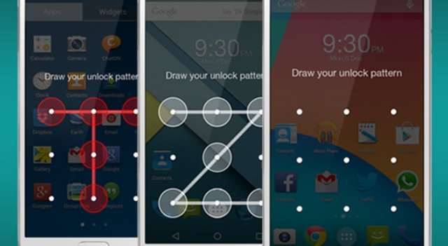 pattern lock on Android