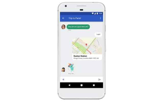 Android Messages with RCS