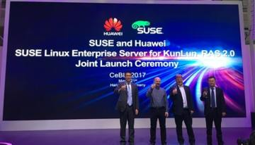 Huawei's KunLun server to run SUSE Linux Enterprise Server