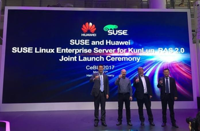 Huawei KunLun with SUSE Linux