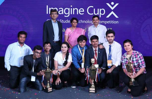 Microsoft Imagine Cup winners