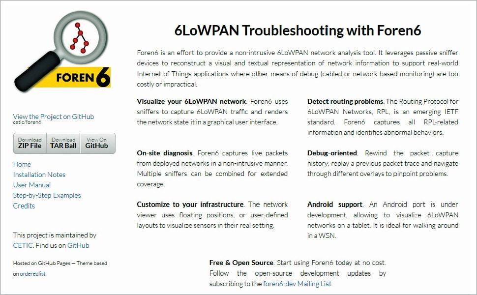 Programming IPv6 protocols using Contiki and Cooja - Open