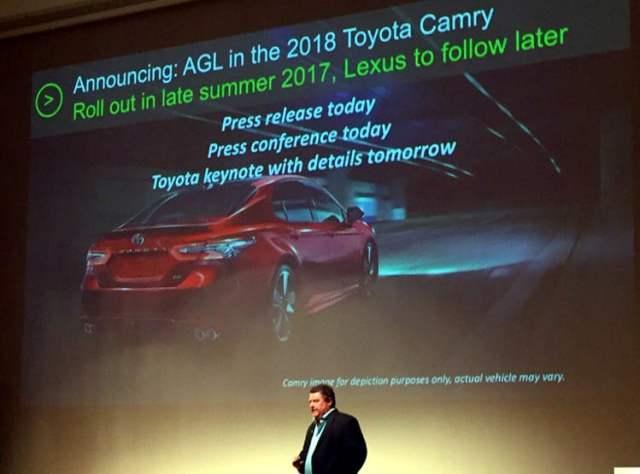 Automotive Grade Linux on Toyota Camry
