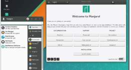 Manjaro Linux update brings GNOME, KDE and Xfce desktop environments