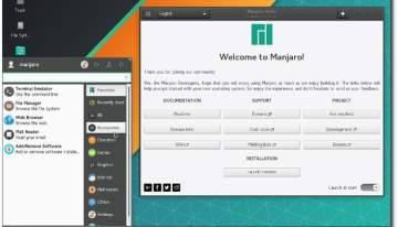 Manjaro Linux update brings GNOME, KDE and Xfce desktop environments