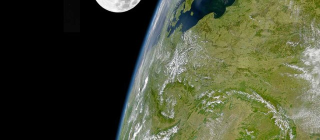 This week's favourite helpful technology- add a realtime image of the earth and the moon to your website