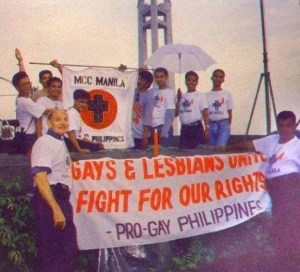 MCC Manila participates in the first LGBT Pride March in Manila