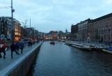 Dusk in Amsterdam
