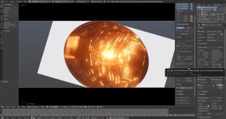 Opening shot of Lights Out in Blender