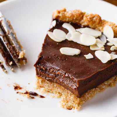 Dark Chocolate Paleo Pie Recipe with Homemade Crust