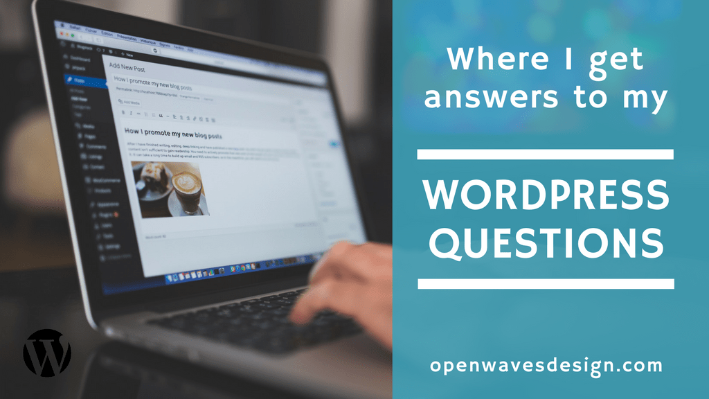Where I get answers to my WordPress questions