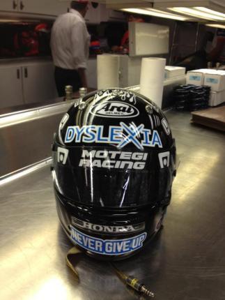 J.Wilson - 2012 Dyslexia Helmet