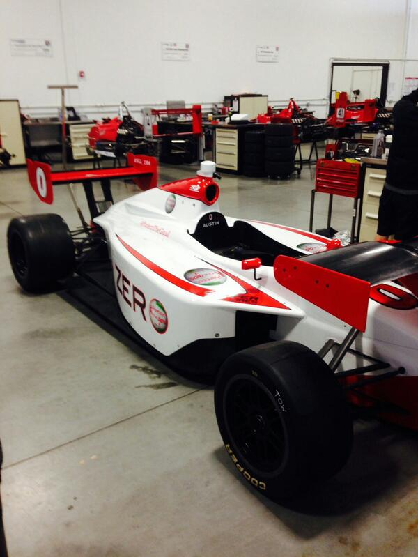 2014 LIGHTS CAR 0 IMS OVAL TEST