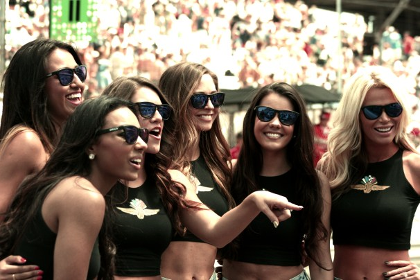 Grid Girls - Carb Day