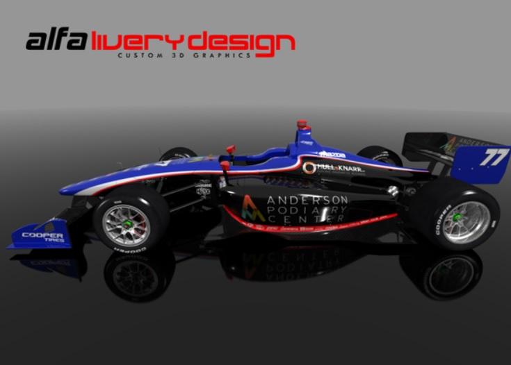 2015 lights car 77 design