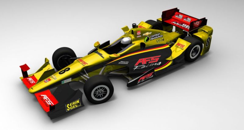 2015 CAR 8 AFS GP OF INDY REVEAL