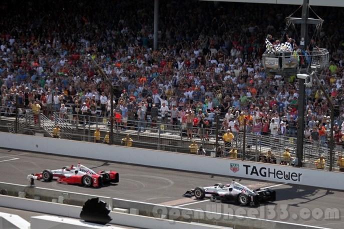 Finish - Indy500