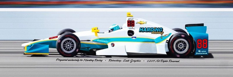 2017 INDYCAR #88 - 2017 CAR 88 COLOR POSSIBILITY