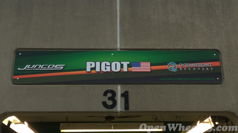 Garage Signs of the 101st Running of the Indianapolis 500 Mile Race - 2017 IMS GARAGE SIGN CAR 11