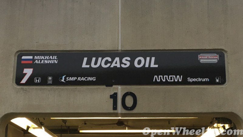 Garage Signs of the 101st Running of the Indianapolis 500 Mile Race - 2017 IMS GARAGE SIGN CAR 7